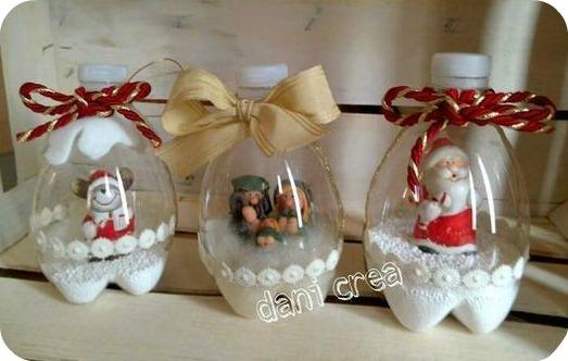 Ni a bonita diy bolas de navidad para el arbol for Bolas de navidad recicladas