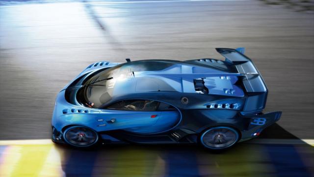 """Inilah Wujud """"Bugatti Chiron"""" Mobil Tercepat di Dunia"""