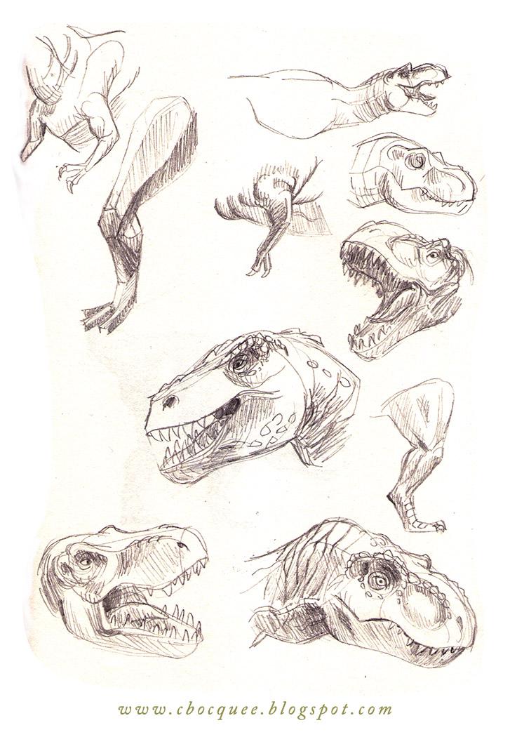 tyrannosaurus rex anatomy studies