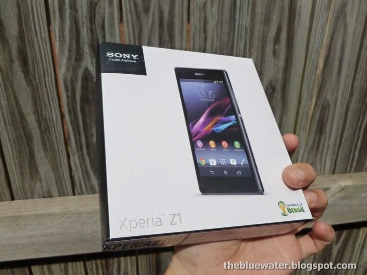 My sexy new Sony Xperia Z1 White ReviewXperia Z1 White Box