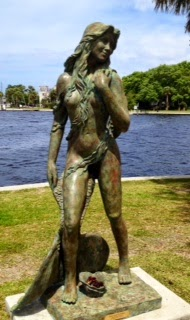 Have you seen our new mermaid at Spring Bayou?
