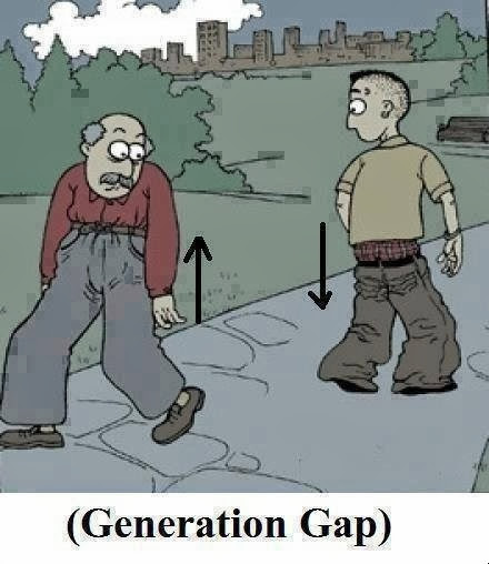 generation gap between parents and child