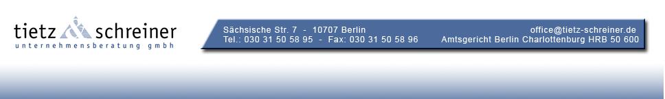 Referenzen tietz&schreiner GmbH
