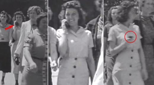 Viajeros del tiempo: Un teléfono celular en video de 1938
