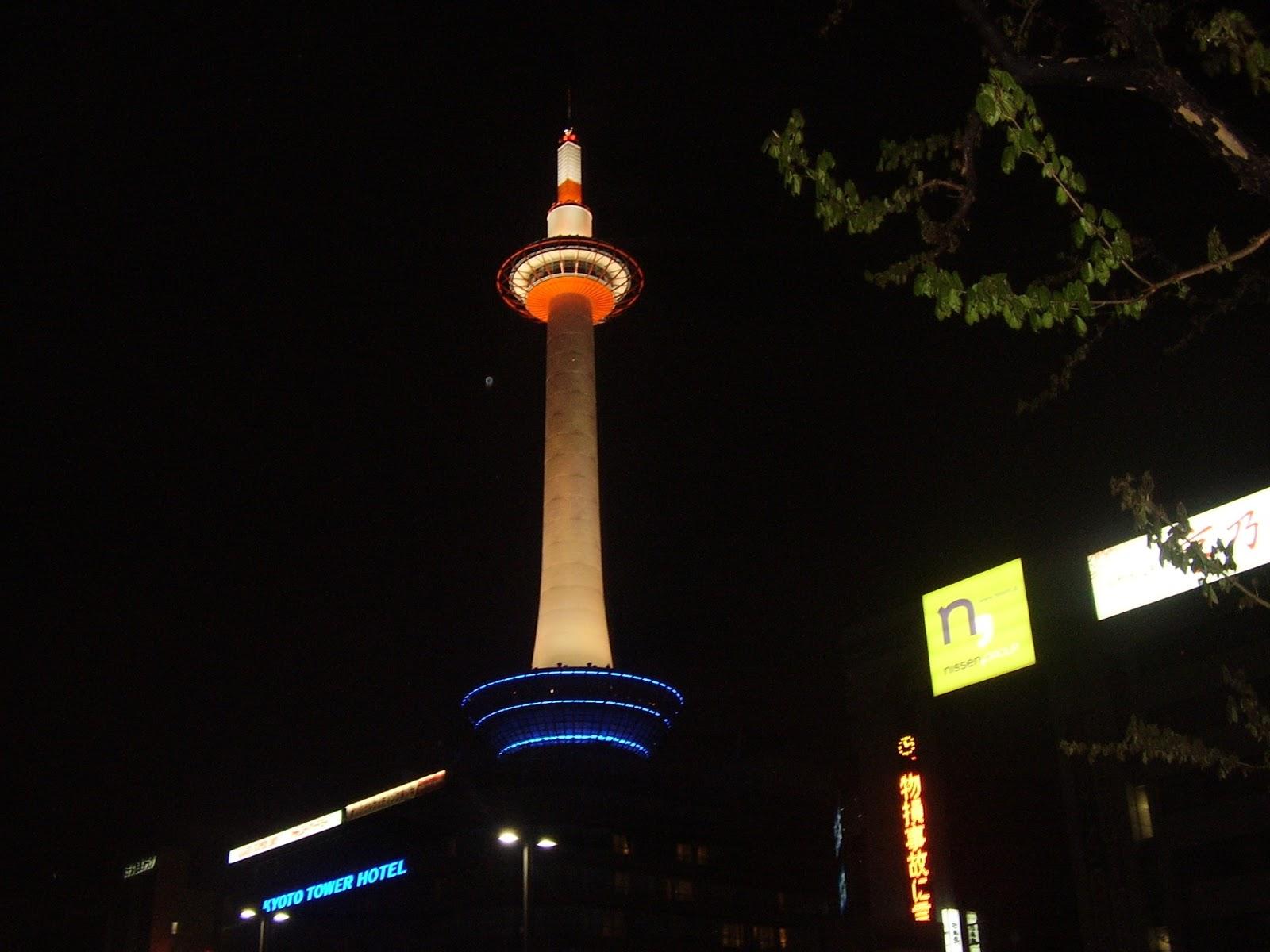 kioto kyoto tower torre japon japan