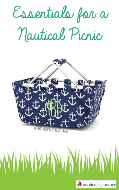 Nautical by Nature | Essentials for a Nautical Picnic