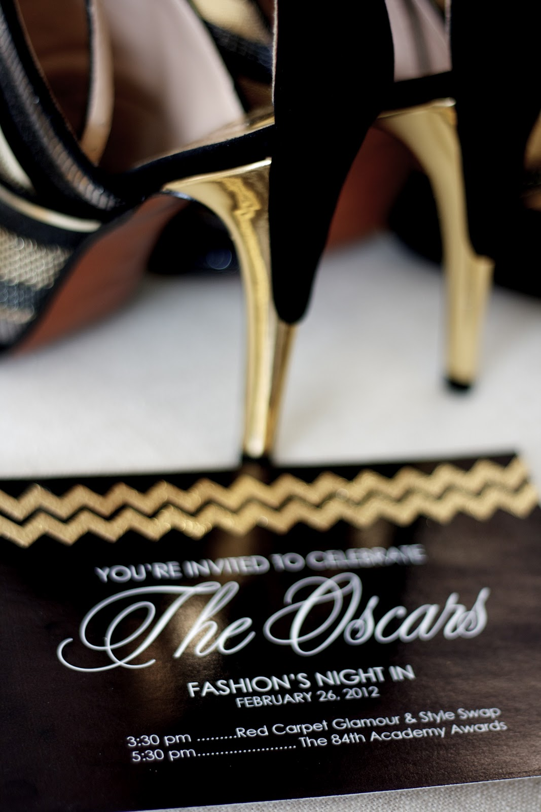 Fashion's Night In: The Oscars 2012