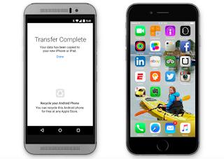 آبل تطلق رسميا تطبيقها المنتظر Move to iOS لجذب مستخدمي أندرويد