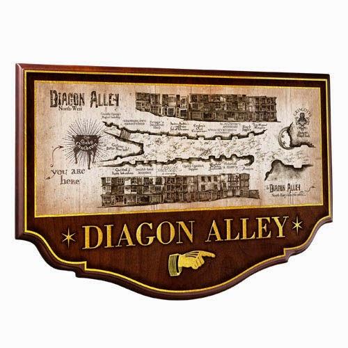 Cartel Diagon Alley