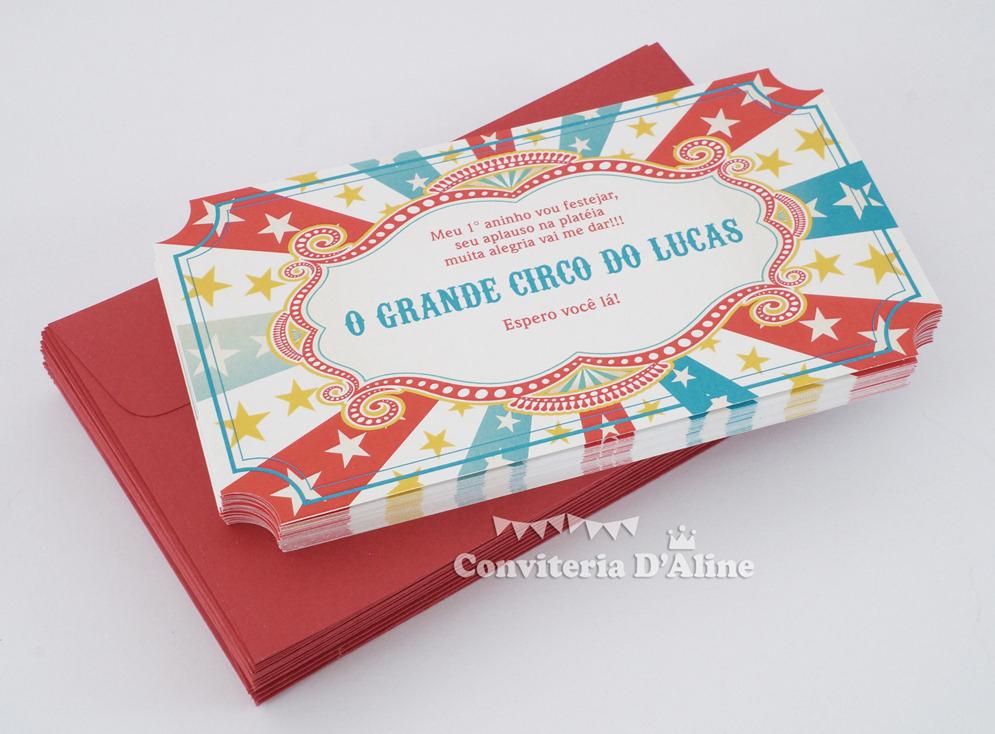 Circus Invitation as adorable invitations design