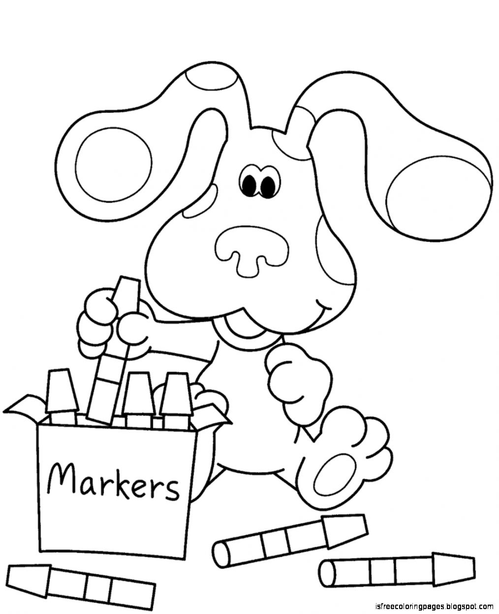 Blue\'s Clues Coloring Pages | Free Coloring Pages