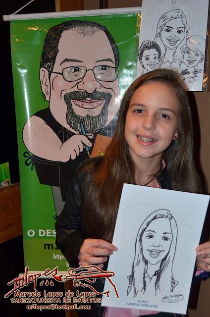 Caricaturista Marcelo Lopes de Lopes