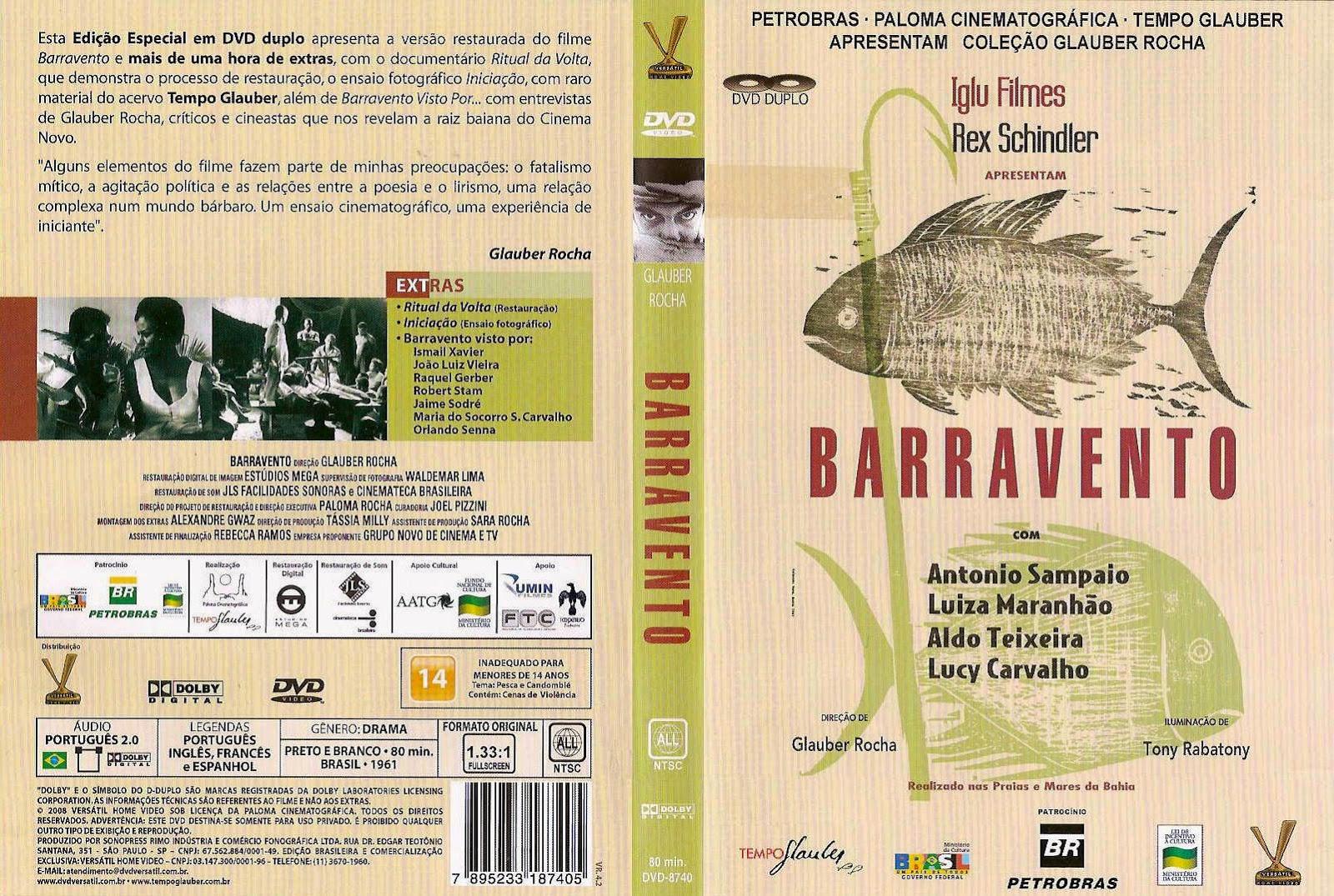 Capa DVD Barravento