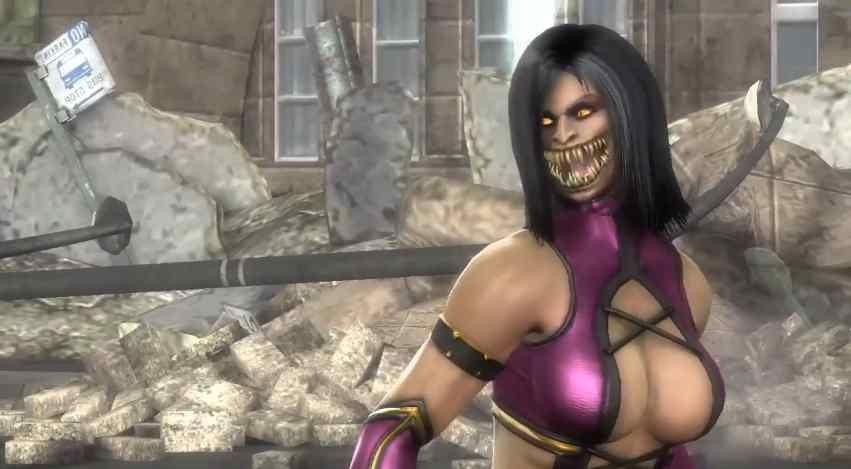 mortal kombat 9 mileena. Mortal Kombat 9 - Kitana vs