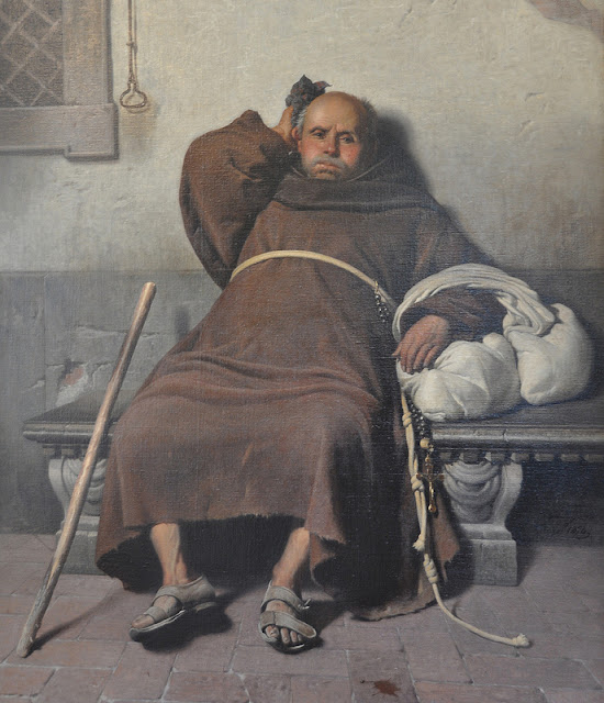 Monk, Lazy, Resting, Work-shy, Friar,