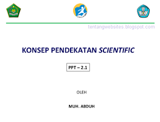 Pendekatan Scientific kurikulum 2013