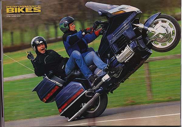 Cara mudah dan aman atraksi Wheelie