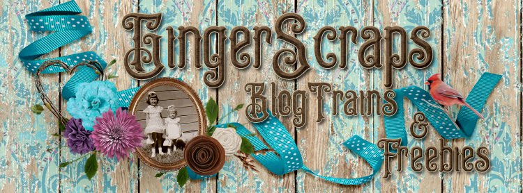 GingerScraps Blog Train