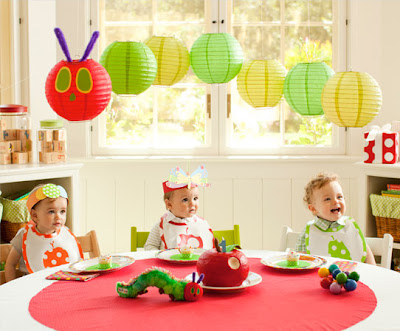Very Hungry Caterpillar Lantern Decorations