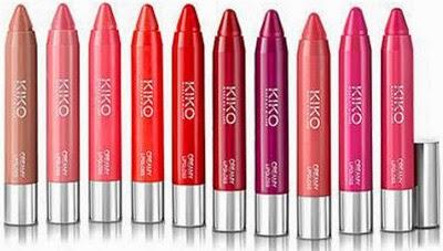 Lápices de labios Cream Lipgloss de Kiko