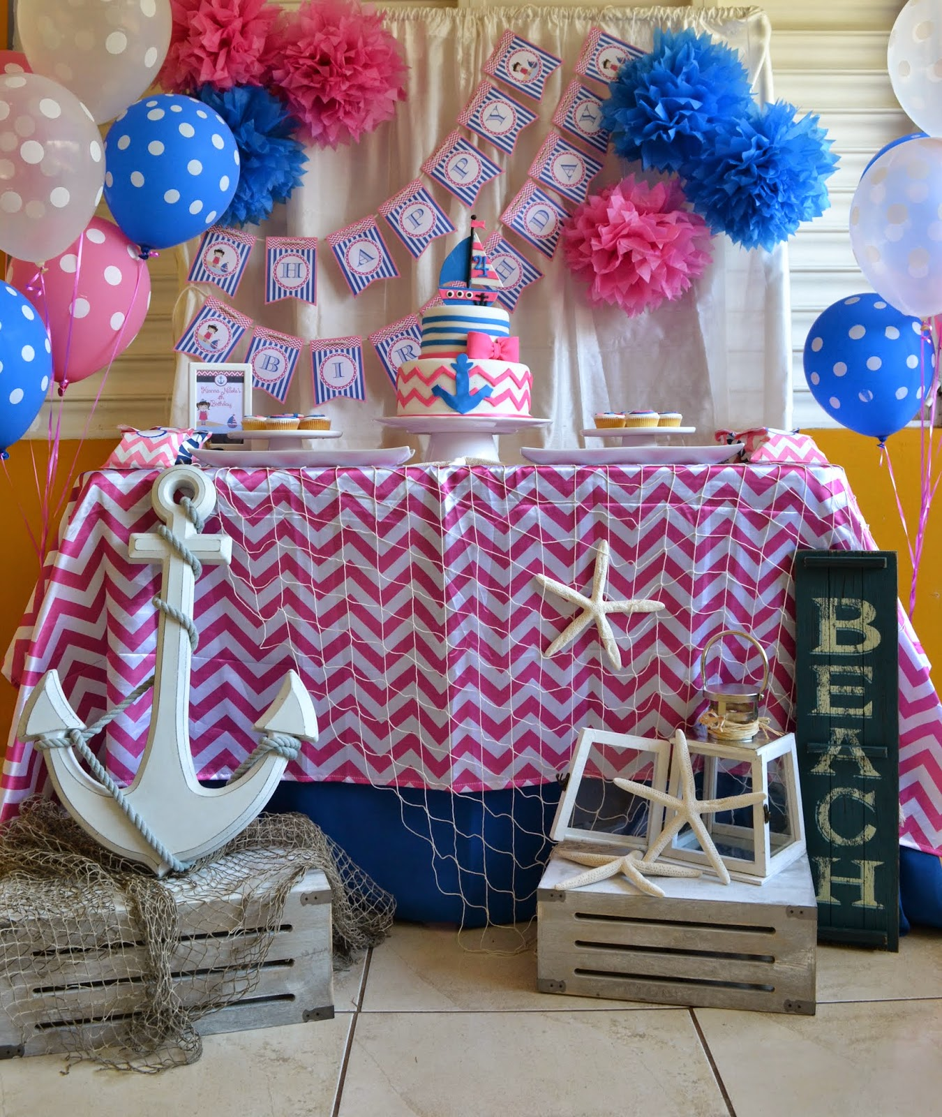 Partylicious april 2014 for Anchor decoration party
