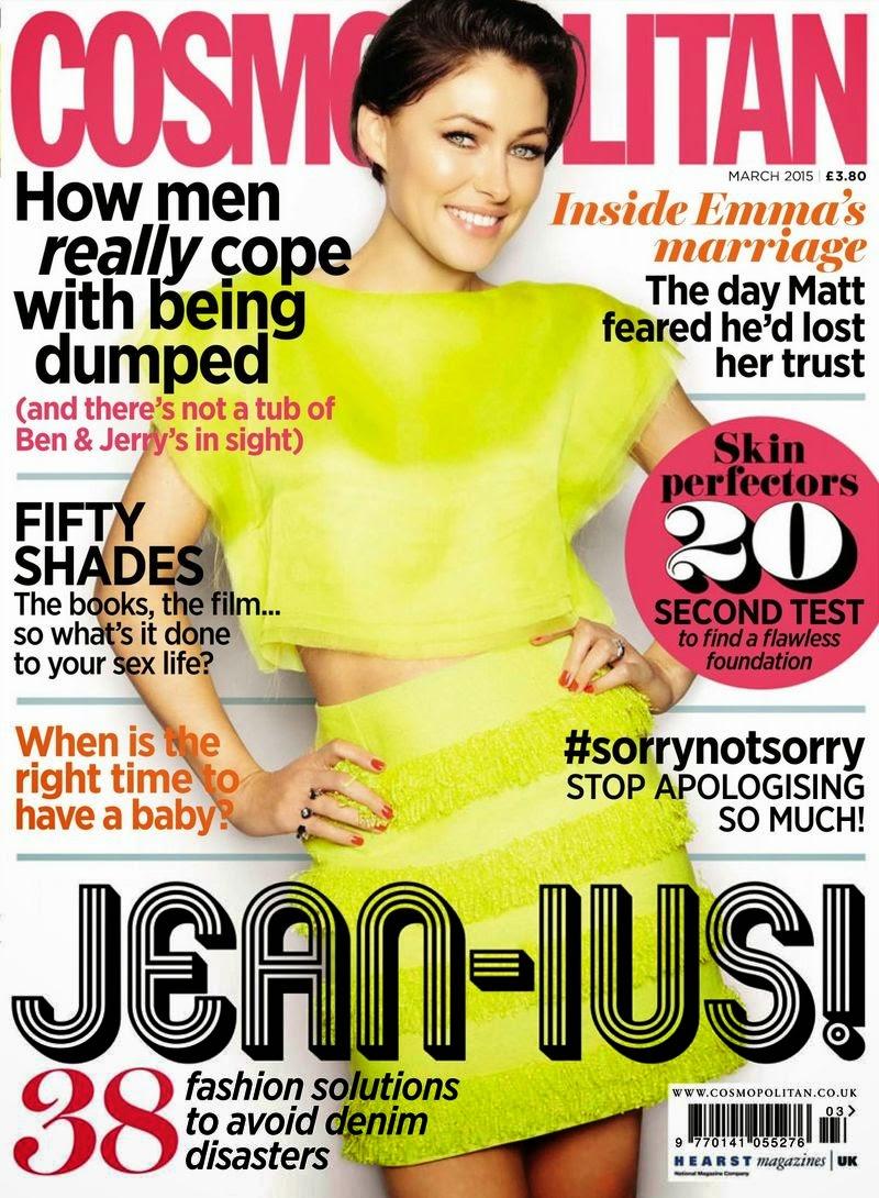 Actress, Fashion Model: Emma Heming for Cosmopolitan UK