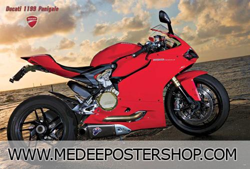 Ducati Big Bike Poster - 7143