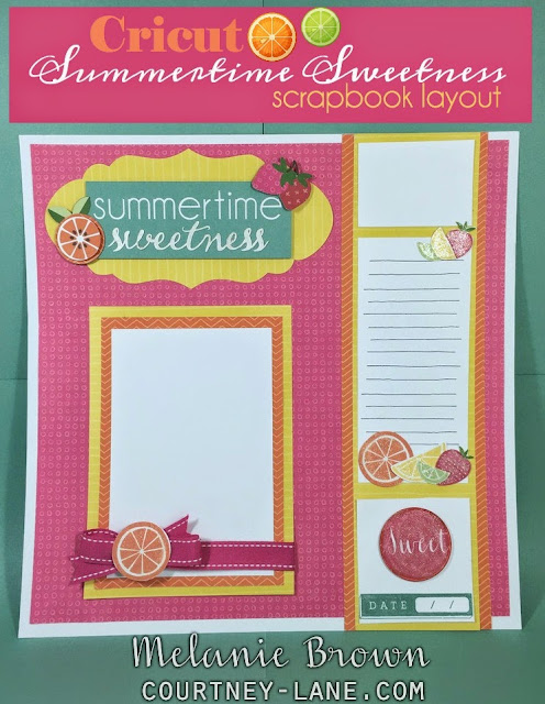 Summertime Sweetness layout