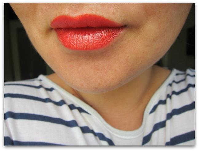 Estee Lauder Coral Halo Lipstick Swatch