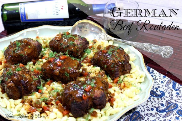 German Beef Rouladen Recipe - Kudos Kitchen by Renee