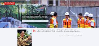 presidenri.go.id - Jadi Website Resmi Presiden Jokowi
