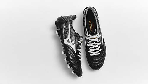 Limited Edition Mizuno Morelia Neo Origami Concept with Black and White Design