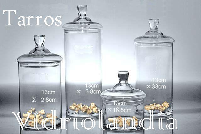 Vidriolandia vidrios dise o calidad carameleras - Tarros de cristal con tapa ...