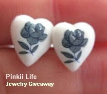 Heart Stud Earrings Giveaway