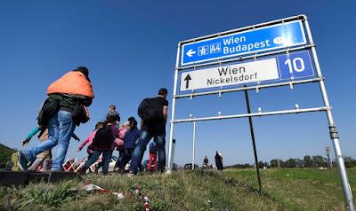 Ausztria, bevándorlás, migráció, illegális bevándorlás, migránsok, Nickelsdorf, Miklóshalma,