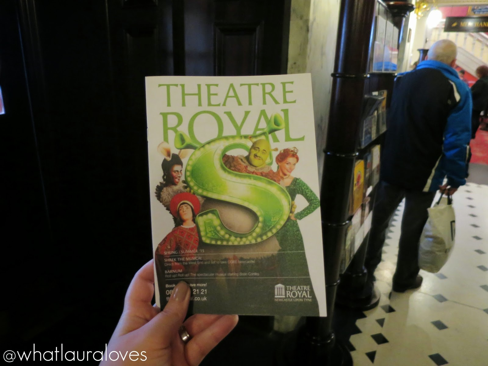 Theatre Royal Newcastle Upon Tyne Programme