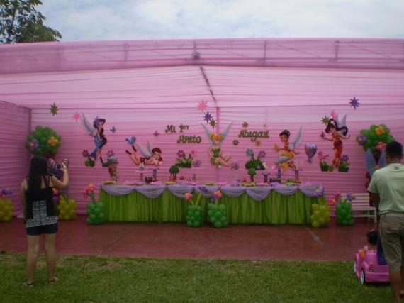 Decoración de Campanita y sus hadas para fiestas infantiles - Imagui