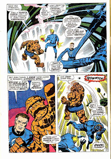Fantastc Four v1 #83 marvel 1960s silver age comic book page art by Jack Kirby