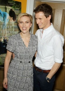 Scarlett Johansson: Sublime his first outing after baby 3