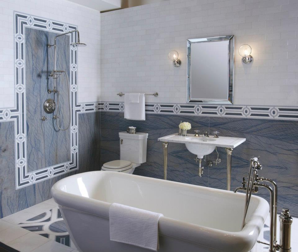 The bath showcase michael s smith room vignettes for Bathroom showcases near me