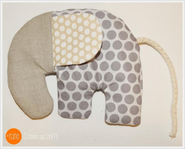 Schnittmuster Elefant nähen Nane schönes aus Stoff