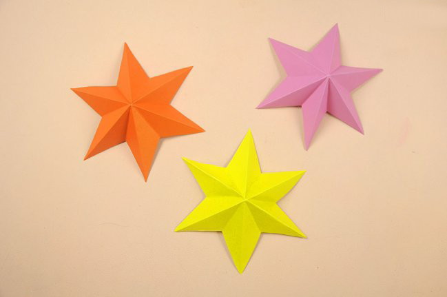 Manualidades en la web tutorial como hacer unas bellas y - Decorar estrella navidad ...