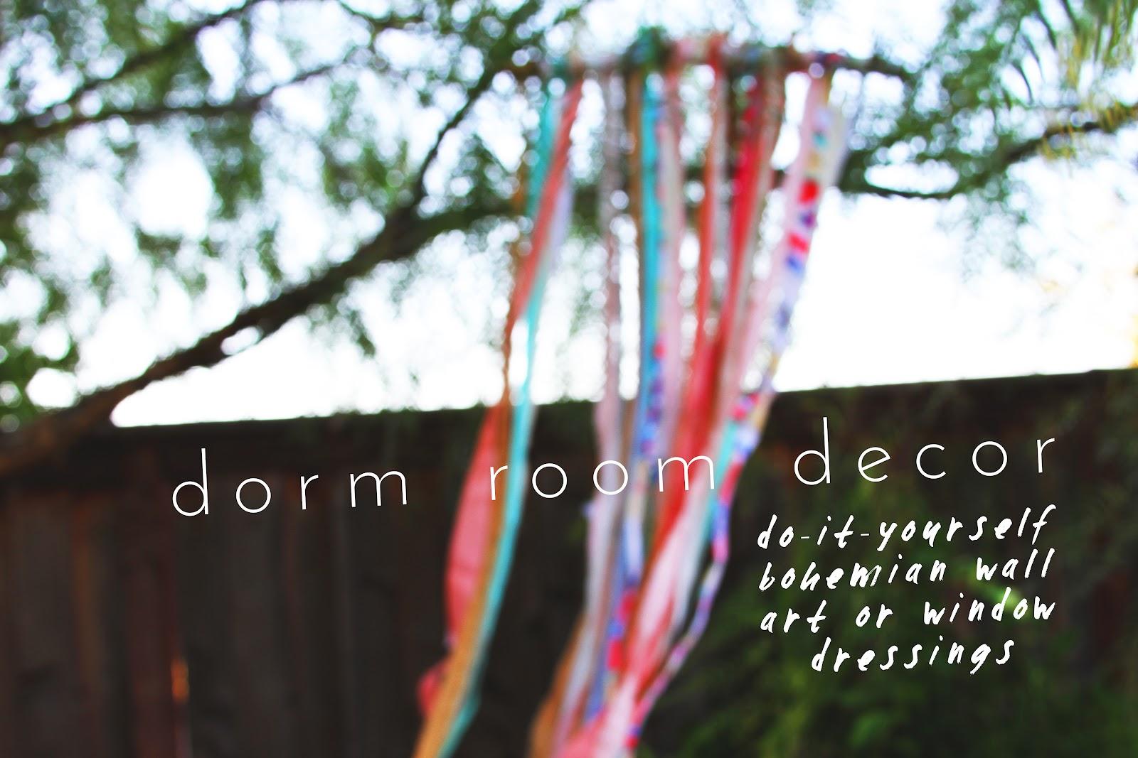 I like fall diy blog diy dorm room decor bohemian wall art window dressings - Diy bohemian wall art ...