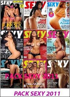 Revista Sexy - Janeiro a Dezembro 2011