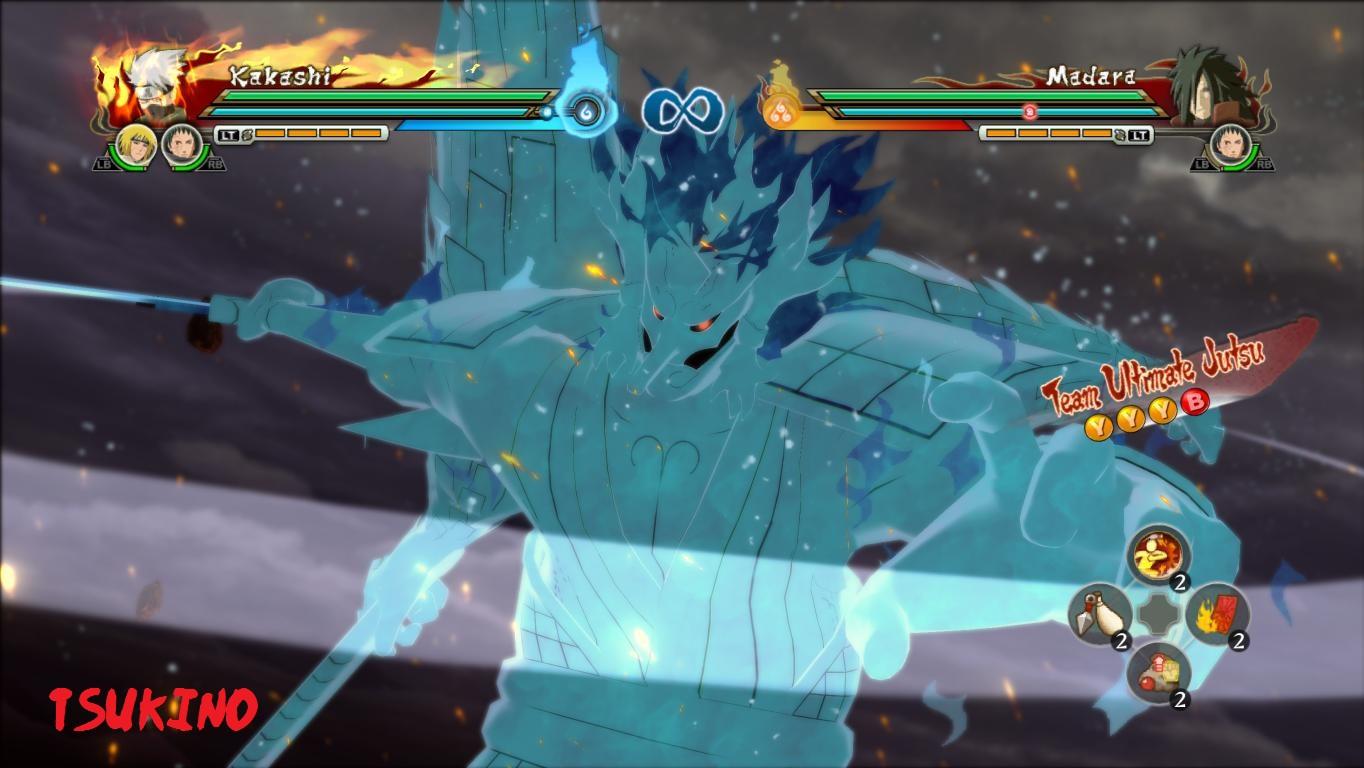 Kakashi Blue Perfect Susanoo Awakening Mod Naruto Storm ...