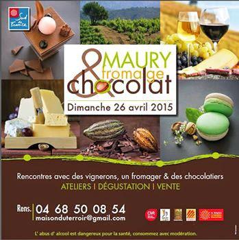 Maury fromage et chocolat