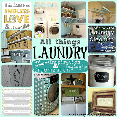 Orchard Girls - All things Laundry Roundup
