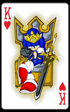 Me encantaria ser tu rey de corazones...