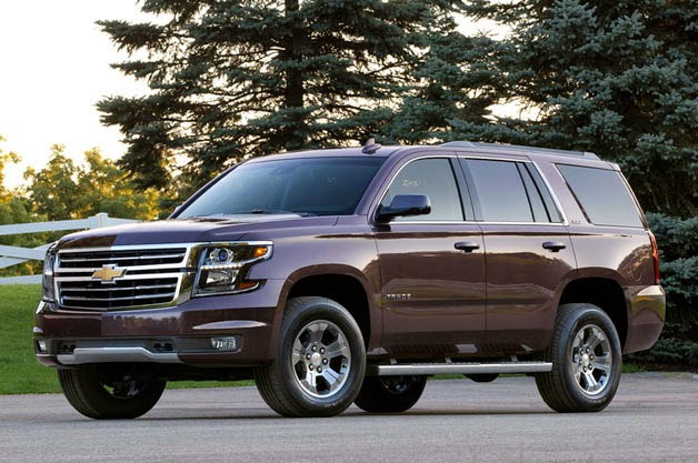 Chevrolet Releases 2015 Tahoe & Suburban Z71 Edition