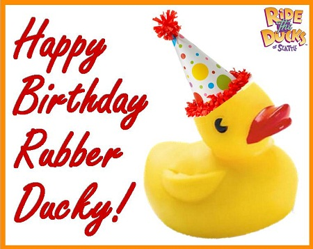 happy birthday rubber ducky ride the ducks of seattle